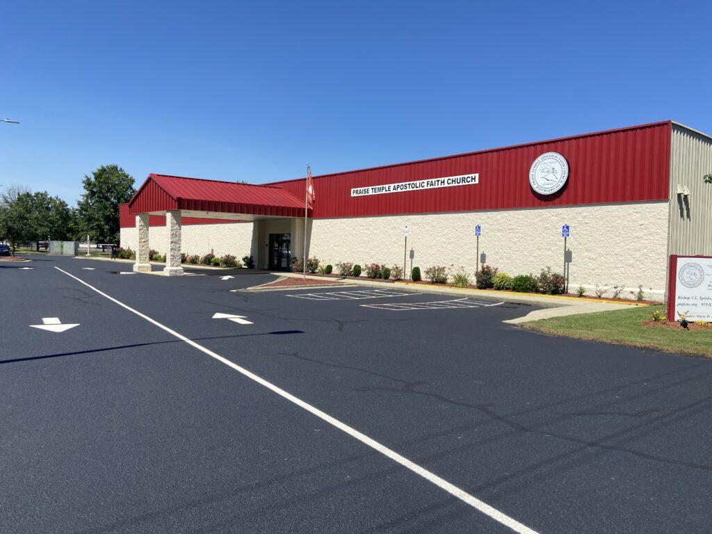 Praise Temple Apostolic Faith Church, Inc. Building